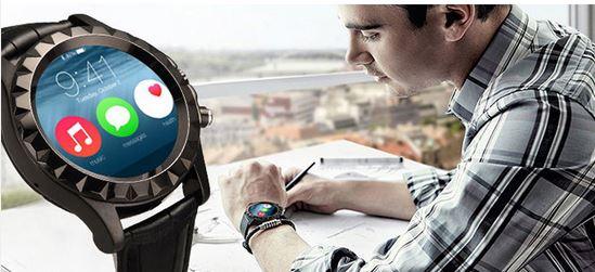 berryking dailygo smartwatch wasserfest bluetooth kamera. Black Bedroom Furniture Sets. Home Design Ideas