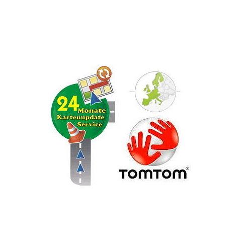 TomTom Kartenaktualisierung Europa 2 Jahre
