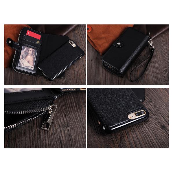 Portemonnaie mit iPhone Hülle
