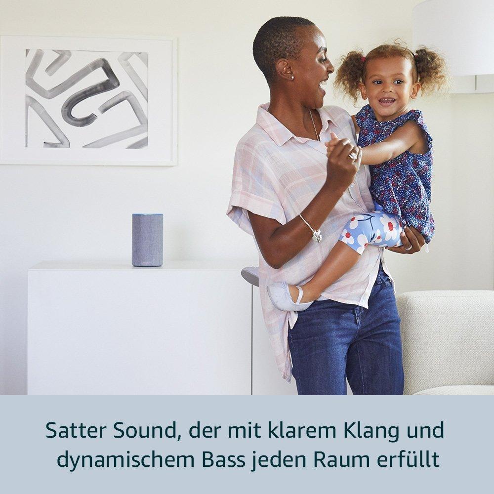 amazon echo 2 generation smart lautsprecher alexa. Black Bedroom Furniture Sets. Home Design Ideas