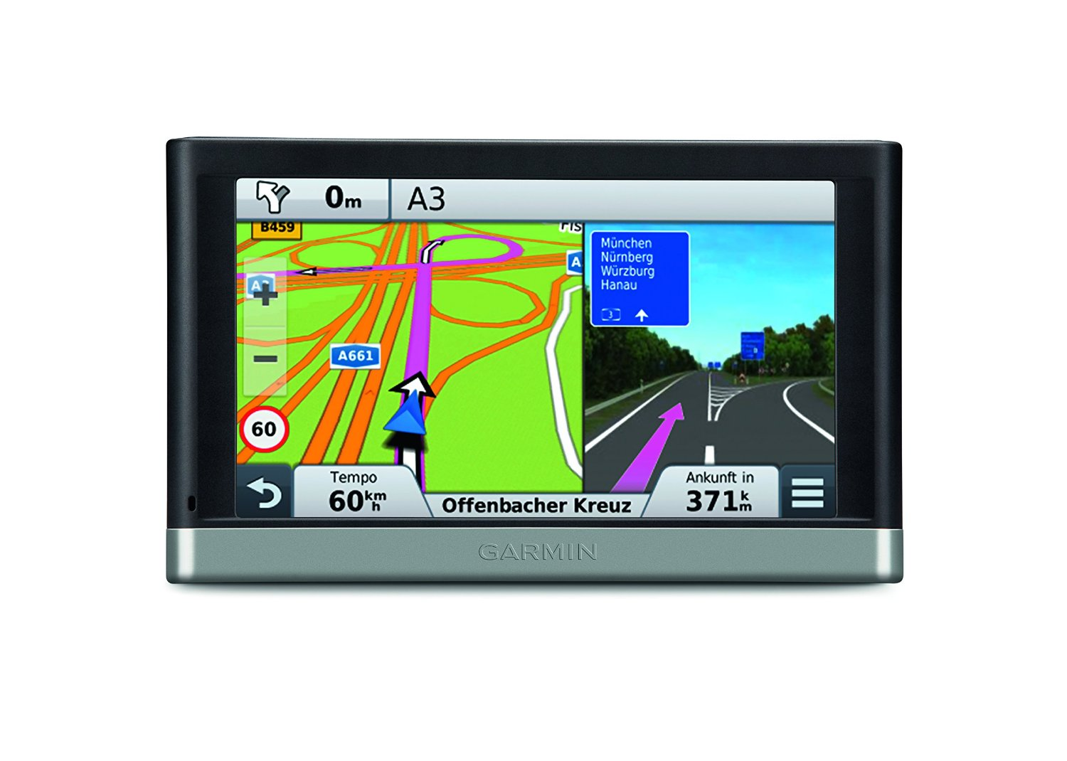 garmin n vi 2597lmt navigationssystem mit lifetime maps. Black Bedroom Furniture Sets. Home Design Ideas