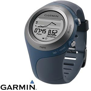 Garmin-Forerunner-405CX-GPS-Watch-Blau-Herzfrequenzmesser-Sport-Uhr-Top-WOW