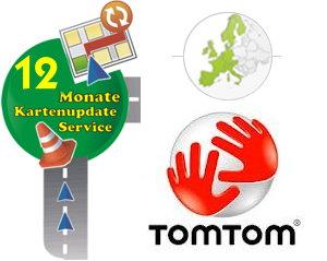 TomTom Kartenaktualisierung Europa 1 Jahr